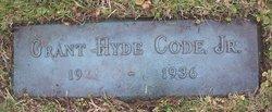 Grant Hyde Code, Jr