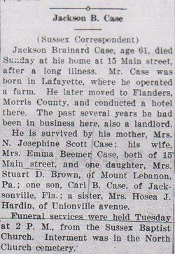 Jackson Brainard Case