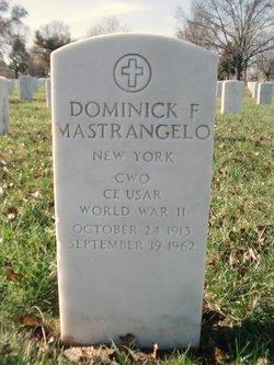 Dominick F Mastrangelo