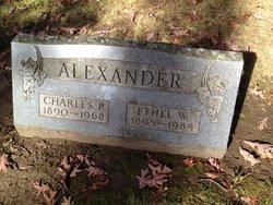 Ethel W <i>Nagle</i> Alexander