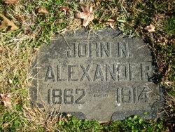 John N Alexander