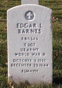 Edgar L Barnes