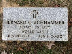 Bernard G Achhammer