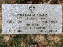 Eugenia H Adams