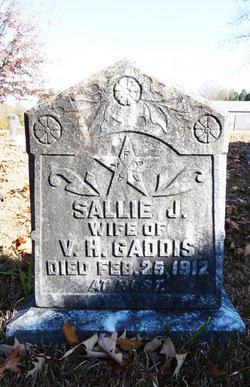 Sallie J <i>Helms</i> Gaddis