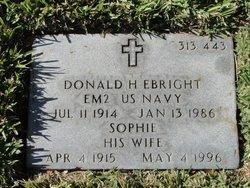 Donald Howard Ebright