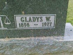 Gladys Betty <i>Walton</i> Mowrer
