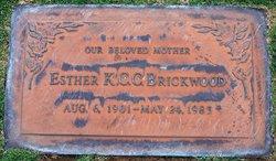 Esther K C C Brickwood