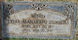 Lydia Alanakapu <i>Fitzsimmons</i> Cummins