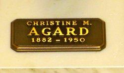 Christine <i>Macgregor</i> Agard