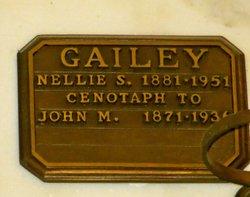 Nellie Sebrina <i>Forgie</i> Gailey