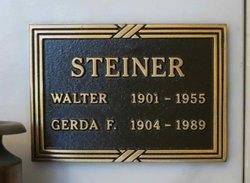 Gerda F <i>Oppen</i> Steiner