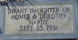 Infant Girl Luanne Hardy