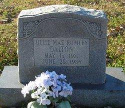 Ollie Mae <i>Rumley</i> Dalton