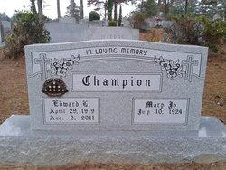 Edward Louis Champion