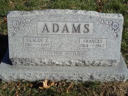 Frances <i>Jeffords</i> Adams