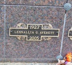 Lennallia <i>Gibson</i> Averett