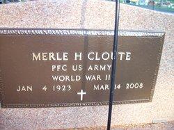 Merle H Cloute