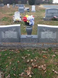 Louise T Adams