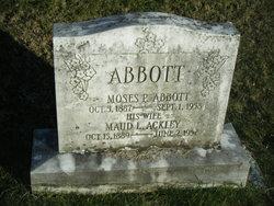 Maud L <i>Ackley</i> Abbott