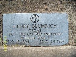 Henry Blumrich