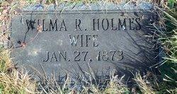 Wilma Ethel <i>Reed</i> Holmes