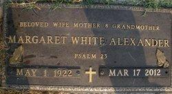 Margaret <i>White</i> Alexander