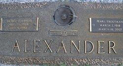 Pearl <i>Troutman</i> Alexander