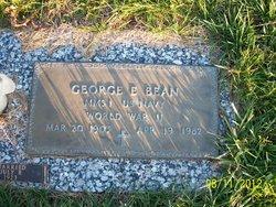 George E. Bean