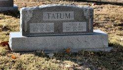 John G Tatum