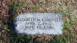 Elizabeth M Campbell