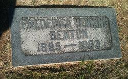 Frederica <i>Henking</i> Benton