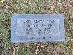 Annie Mary <i>Peak</i> Barron-Smith