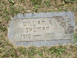 William Robert Bill Shuman