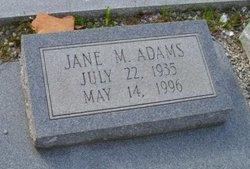 Jane M. Adams