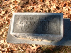 Ned Cecil Goodnight