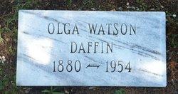 Olga Caroline <i>Watson</i> Daffin