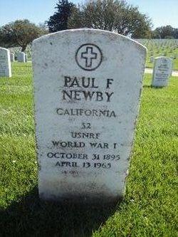 Paul Fred Newby