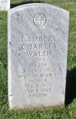 Lambert Charles Walsh