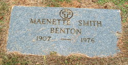 Maenette <i>Smith</i> Benton