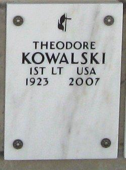 Theodore Kowalski