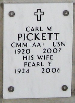 Carl M Pickett