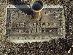 Bess L. <i>Reeves</i> Crawford