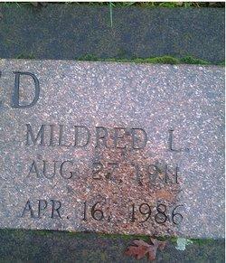 Mildred Lenea <i>Parker</i> Reed