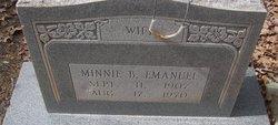 Minnie Beatrice <i>Gardner</i> Emanuel