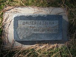 Walter B Blair