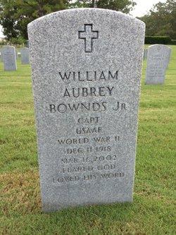 William Aubrey Bill Bownds, Jr
