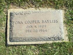 Ona <i>Cooper</i> Bayliss