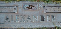 Mamie McLelland <i>Alexander</i> Alexander