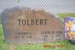 Gertrude <i>Cook</i> Tolbert
